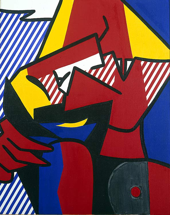famous painting desespero of Roy Lichtenstein