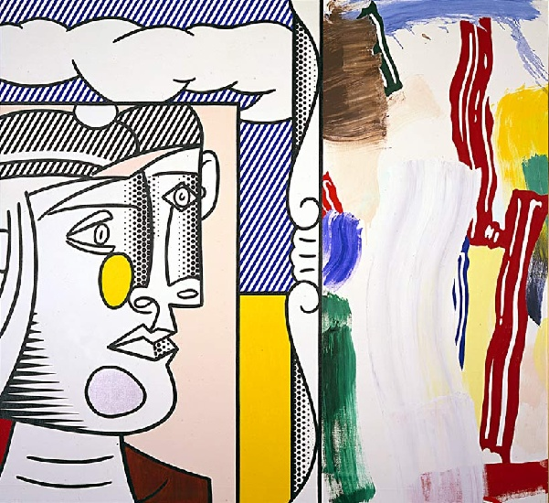 famous painting picasso cabeça of Roy Lichtenstein