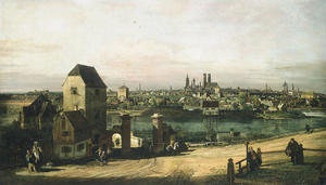 Bernardo Bellotto - vista de munique