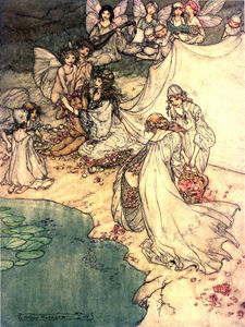 Arthur Rackham - So Sweet A Changling