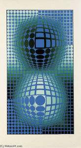 Victor Vasarely - Battor