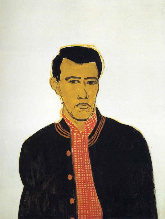 famous painting Jaqueta of Alex Katz