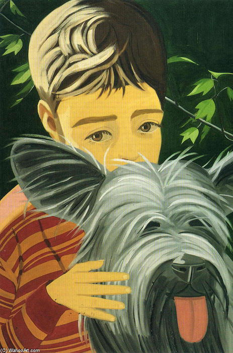 famous painting Vincent E Sunny of Alex Katz