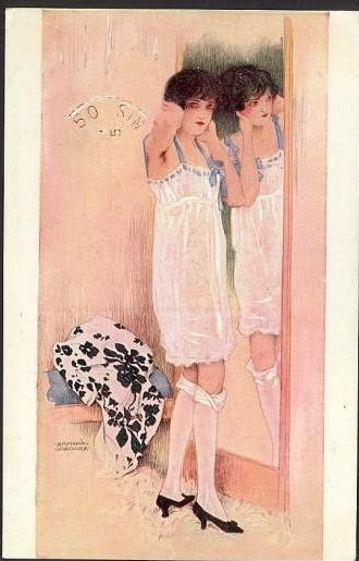 famous painting Itens individuais of Raphael Kirchner