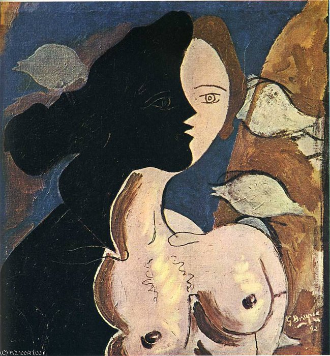 | untitled (156) por Georges Braque | BuyPopArt.com