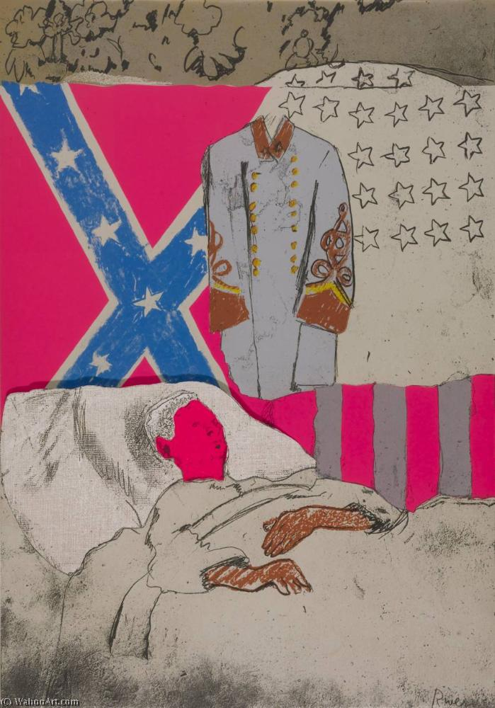 famous painting confederado soldado  of Larry Rivers