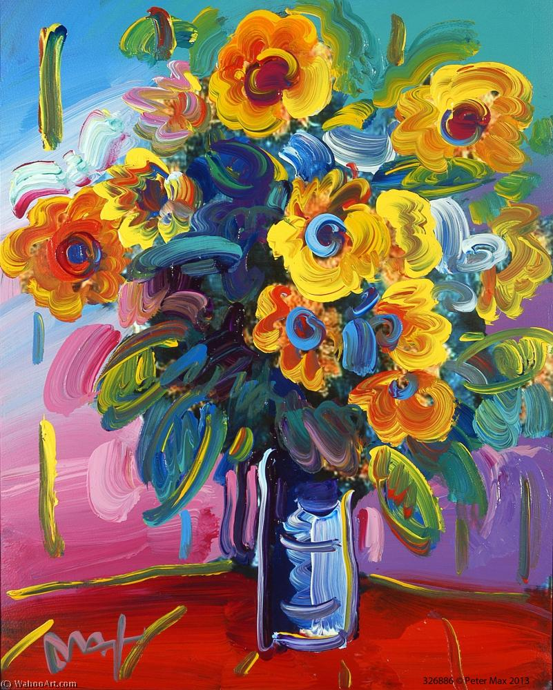 famous painting flor of Peter Max